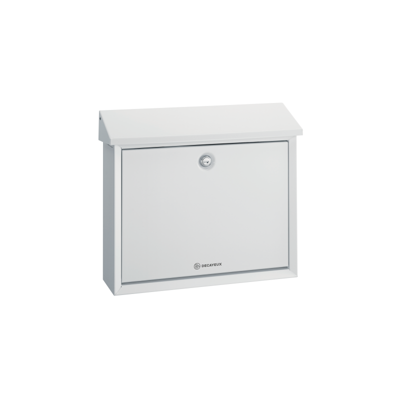 White Decayeux D150 Postbox