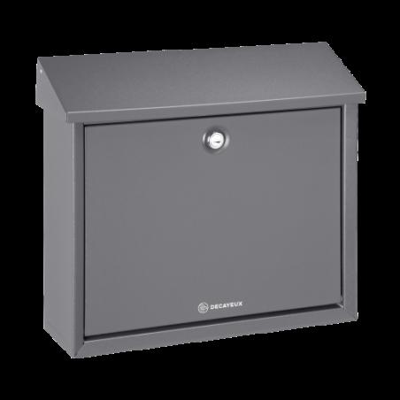 Dark Grey Decayeux D150 Postbox