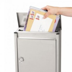 Decayeux D110 Easy Clean Stainless Steel  Postbox