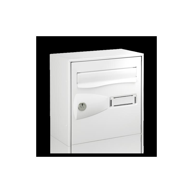 White Decayeux Anti-Theft Citadis Postbox