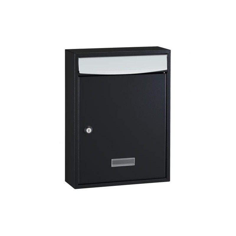 Black Decayeux Wall Mounted Bologne Postbox