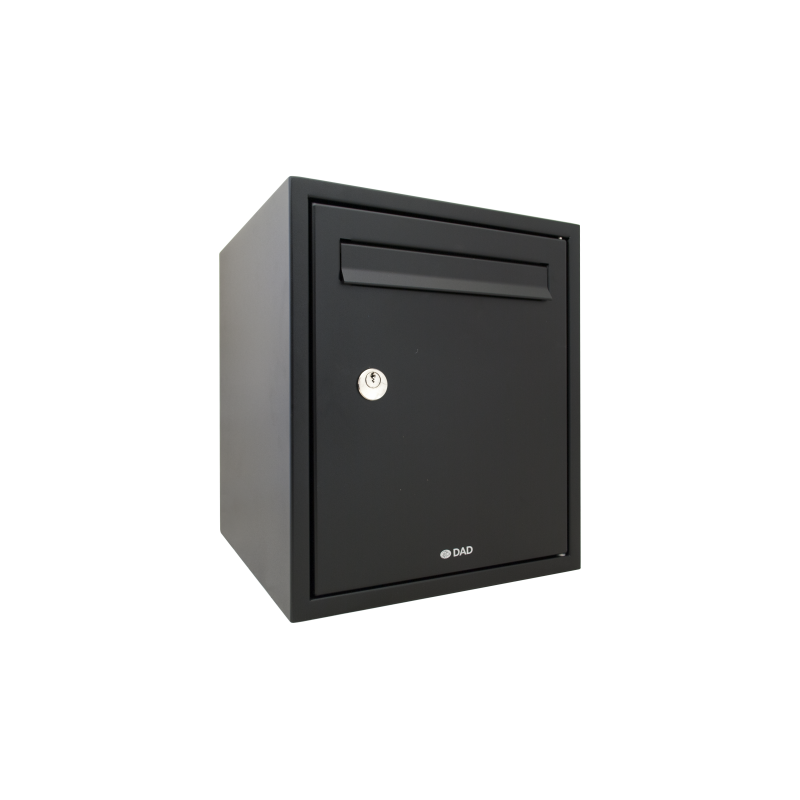 Black Decayeux DAD009 Secured by Design Postbox