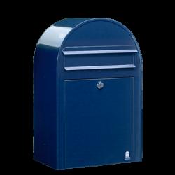 Blue Bobi Classic Large Capacity Postbox