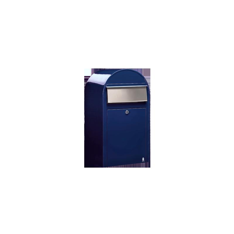 Blue Bobi Grande Large Capacity Postbox