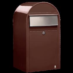 Brown Bobi Grande Large Capacity Postbox
