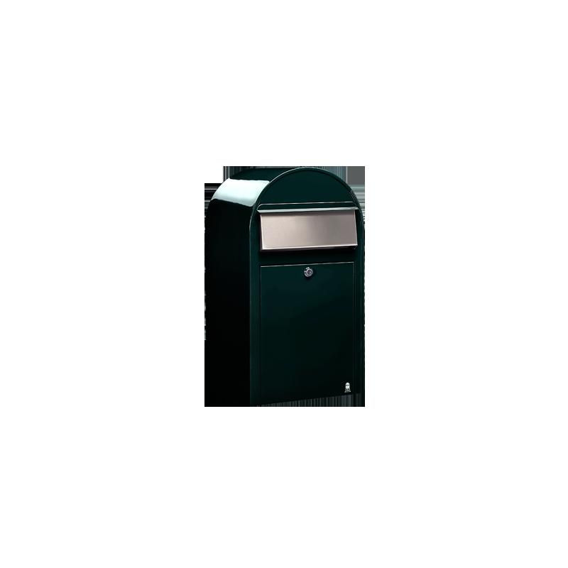 Dark Green Bobi Grande Large Capacity Postbox