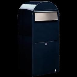 Dark Blue Bobi Jumbo Extra Large Capacity Postbox