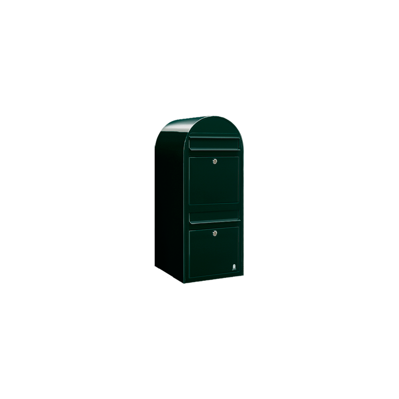 Dark Green Bobi Duo Extra Large Capacity Postbox