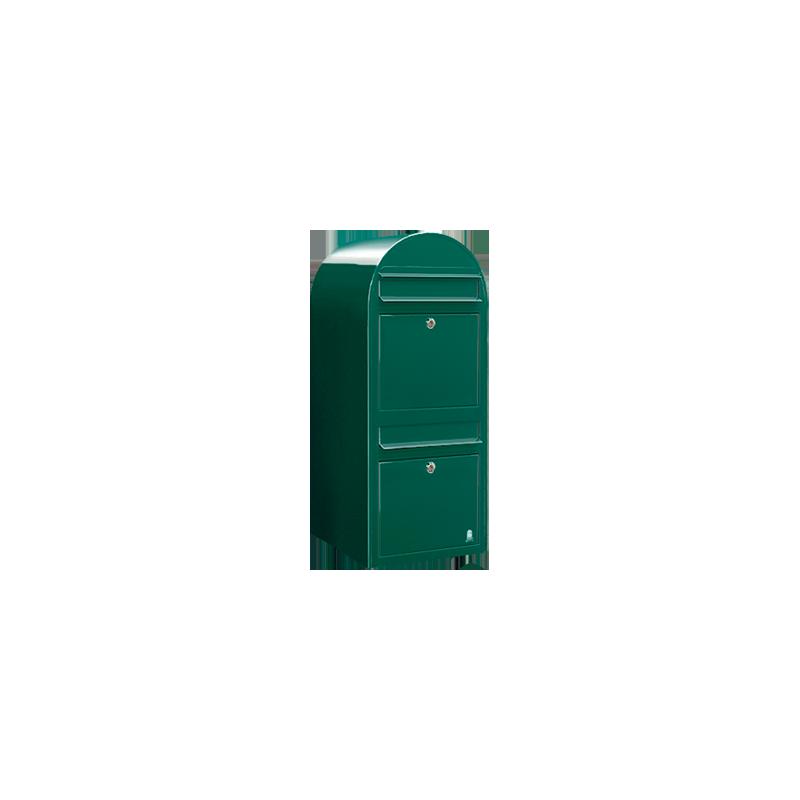 Green Bobi Duo Extra Large Capacity Postbox