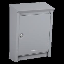 Silver grey Decayeux D110 Postbox