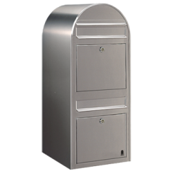 Bobi Duo Stainless Steel Extra Large Capacity Postbox