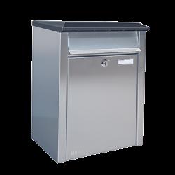 Bobi Xpress Stainless Steel Postbox