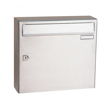Decayeux Wall Mounted Stainless Steel City 1 PostBox