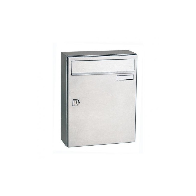 Decayeux Wall Mounted Stainless Steel City 2 PostBox