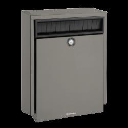 Quartz Grey Decayeux D410 Anti-Theft PostBox