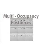 Vertical Multi-Occupancy Postbox